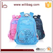 Sacos de escola preliminares populares dos desenhos animados trouxa saco de escola quente da criança da venda