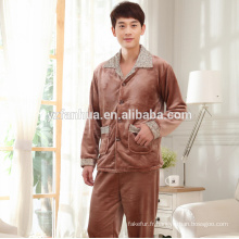 Polyester lourd Coral Fleece Homme Costume Chine fournisseur
