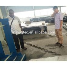 Preço de máquina de porta de grade de ferro de alta precisão à venda