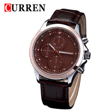 curren diamond master men watch japan movt quartz wristwatch