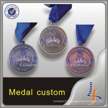 Médailles de marine US personnalisées en métal antique