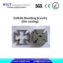 Модные аксессуары для литья под давлением Zamak с покрытием