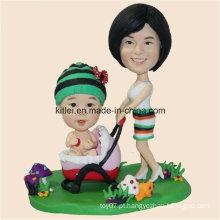 Desenho Animado PVC Vinil Customed Kids Plastic Toy China ICTI Aprovado