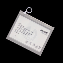 PVC Wear Suit Plastic Zip Lock Bag