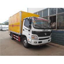 Foton flammable liquid dangerous goods transport truck