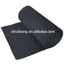 Le filtre de plafond de carbone activé par brume de peinture de polyester a senti le filtre à air de médias de carlingue de carbone de médias d'air