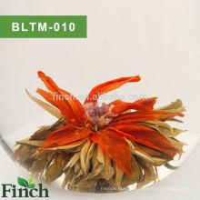 Té floreciente hecho a mano chino Té floreciente con sabor a jazmín al por mayor