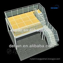 Shanghai expo constructor customize exhibition stand double story exhibition, construct two story booth