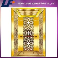 Luxury Titanium Gold House Elevator