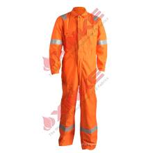 Combinaison de sécurité Hi Vis Orange 100 en coton