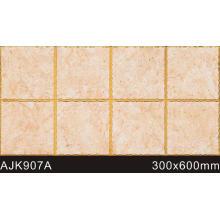 Azulejos de parede branca de alta qualidade para sala de estar (AJK907A)
