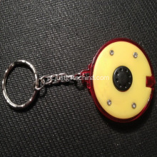 Rolo promocional Led Keyrings One Button Touch