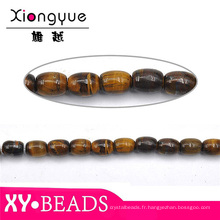 Prière de chocolat brun Murano perles en gros