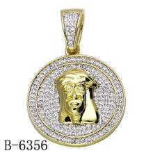 Последние дизайн ювелирных изделий стерлингового серебра 925 кулон с бриллиантом