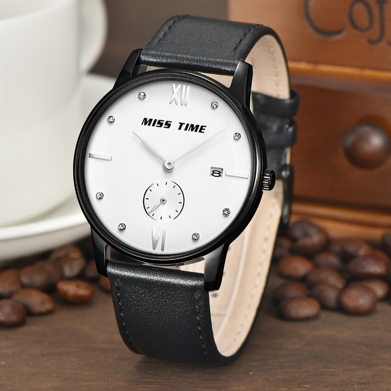 Oem Stainless Steel Case Waterproof Quartz Watches
