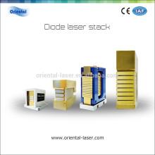 Dispositivos especiales para eliminación de vello Pila vertical de bombeo de diodo láser