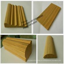 madeira de teca / moldagem de madeira fina
