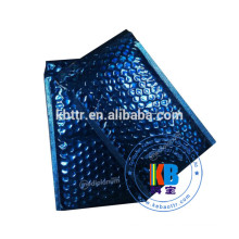 Custom printed blue VMPET padded bubble mailer envelope