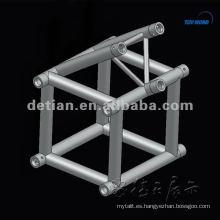 Stand ferial Portamonedas usado de aluminio, braguero curvo