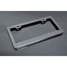 Durable High Quality Carbon Fiber License Plate Frames