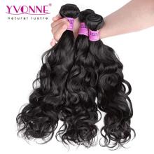 En gros Meilleure Qualité Vague Naturelle Cheveux Vierges Brésiliens