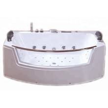 Ванны из прозрачного стекла с гидромассажем и светодиодной подсветкой