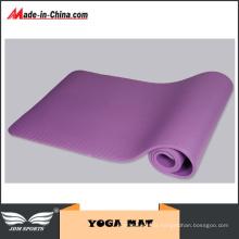 Esteira natural colorida da ioga da borracha de espuma