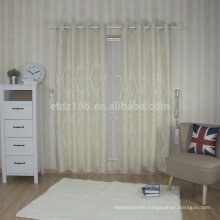 New arrival 100% polyester embroidery curtain window
