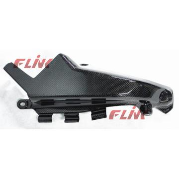 Pièces de fibre de carbone pour motocycles Couverture latérale de radiateur (DMS06) pour Ducati Monster 696 08