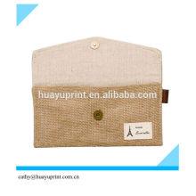 Холщовая сумка Кошелек Сумочка льняное ремесло Пику