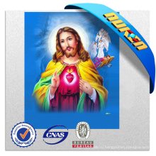 Мультфильм тайная вечеря 3D-изображения Иисуса Христа с высоким quanlity