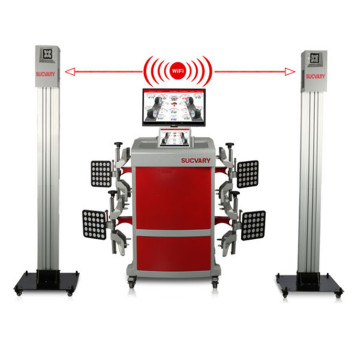 Mobile 3D Wheel Alignment for Pit