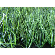 8800dtex 50mm Bicolor Baseball Turf Grass With Pp + Net Cloth Backing