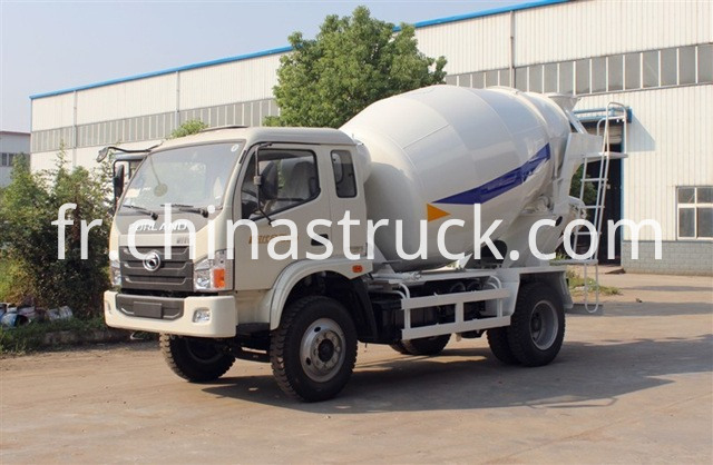 Mini Foton Concrete Mixer Truck