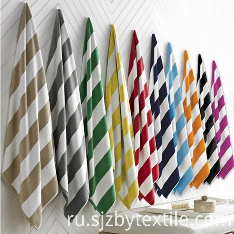 colorful rectangle beach towel