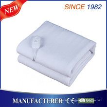 Newest Plain Dyed Pattern and Non-Woven Material Electric Blanket