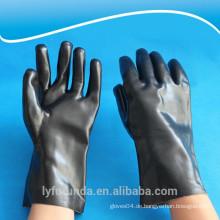 PVC-Handschuhe, doppelt getaucht, glatte Oberfläche
