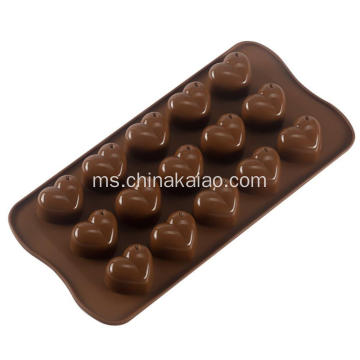 Star Shell dan Heart Shape Silicone Candy Molds