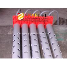Calefator de imersão industrial de quartzo, usado para chapear a superfície descarta a solução de algum aquecimento