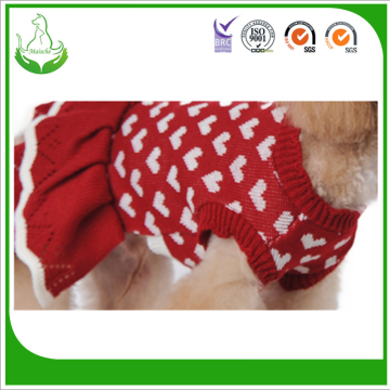 Factory Supply Dog Sweater Gratis stickning mönster