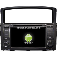 Android System car multimedia player for Mitsubishi Pajero with GPS,Bluetooth,3G,ipod,Games,Dual Zone,Steering Wheel Control