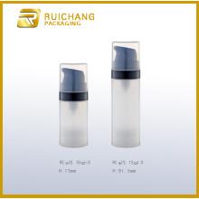 Small plastic airless pump bottles