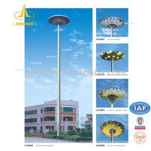 Poteau d'éclairage de mât de 15 m