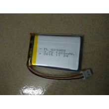 Hot Selling Rechargeable Li-Polymer Battery Mod. 603450 3.7V 1200mAh