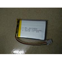 Moduladora de bateria Li-Polymer recarregável quente. 603450 3.7V 1200mAh