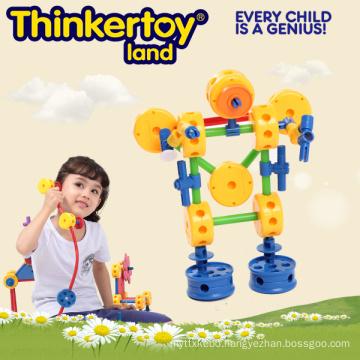 Preschool Educational Plastic Toy in Figure Shape