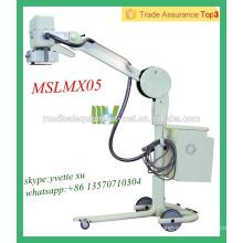 MSLMX05-M Alta calidad Móvil de alta frecuencia de rayos X de la unidad digital móvil de la máquina de rayos X