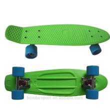 2016 горячий продажа дешевые пустые пластиковые крейсеров скейтборд для продажи