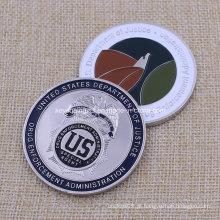 Custom Us Drug Law Application Coin Challenge