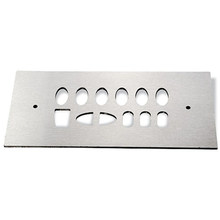 Piezas de corte por láser de acero inoxidable